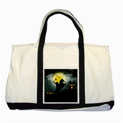 Headless Horseman Two Tone Tote Bag
