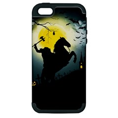 Headless Horseman Apple Iphone 5 Hardshell Case (pc+silicone)
