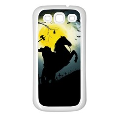 Headless Horseman Samsung Galaxy S3 Back Case (white)