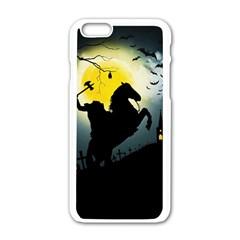 Headless Horseman Apple Iphone 6/6s White Enamel Case
