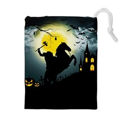 Headless Horseman Drawstring Pouches (extra Large)