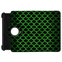 Scales1 Black Marble & Green Brushed Metal Kindle Fire Hd 7