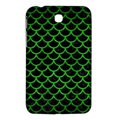 Scales1 Black Marble & Green Brushed Metal Samsung Galaxy Tab 3 (7 ) P3200 Hardshell Case