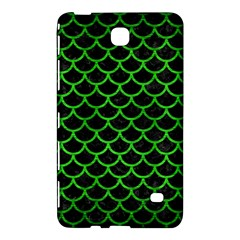 Scales1 Black Marble & Green Brushed Metal Samsung Galaxy Tab 4 (8 ) Hardshell Case