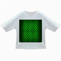 Scales1 Black Marble & Green Brushed Metal (r) Infant/toddler T Shirts