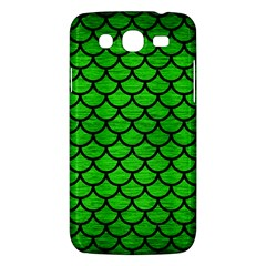 Scales1 Black Marble & Green Brushed Metal (r) Samsung Galaxy Mega 5 8 I9152 Hardshell Case