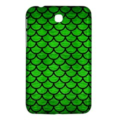 Scales1 Black Marble & Green Brushed Metal (r) Samsung Galaxy Tab 3 (7 ) P3200 Hardshell Case