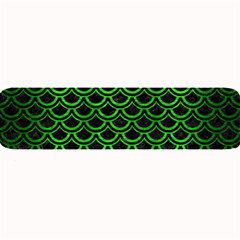 Scales2 Black Marble & Green Brushed Metal Large Bar Mats