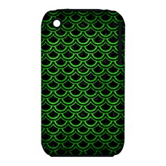 Scales2 Black Marble & Green Brushed Metal Iphone 3s/3gs
