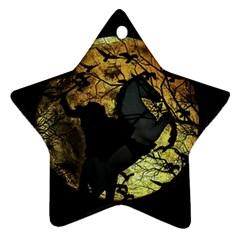 Headless Horseman Ornament (star)