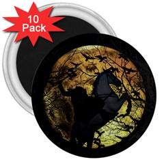 Headless Horseman 3  Magnets (10 Pack)