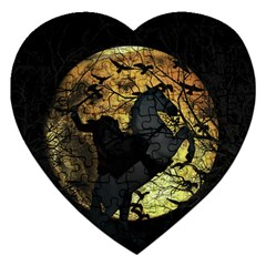 Headless Horseman Jigsaw Puzzle (heart)