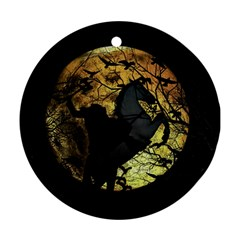Headless Horseman Round Ornament (two Sides)
