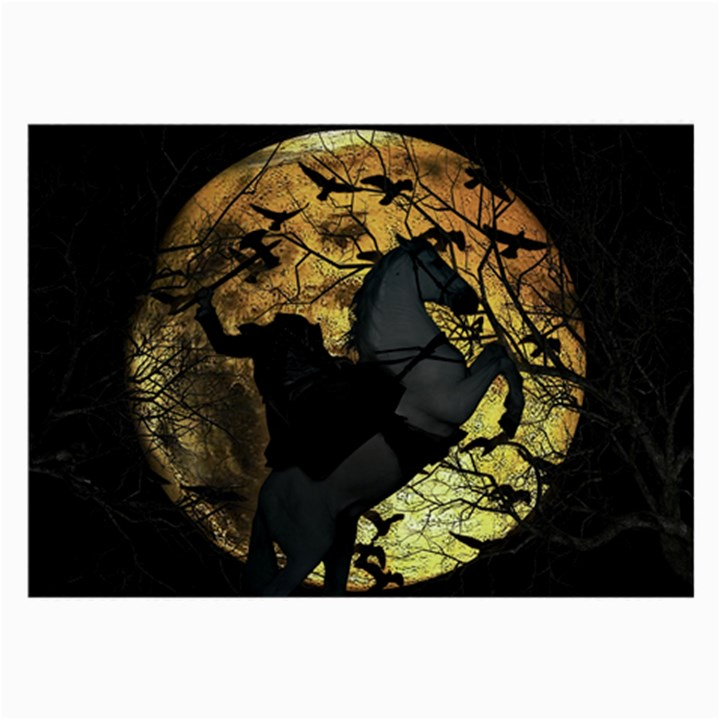 Headless Horseman Large Glasses Cloth (2-Side)