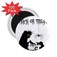 Halloween 2 25  Magnets (100 Pack)
