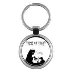 Halloween Key Chains (round)
