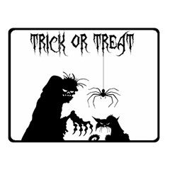 Halloween Double Sided Fleece Blanket (small)