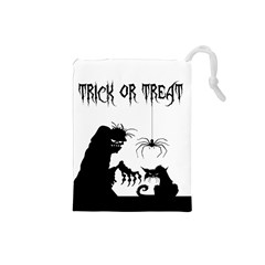 Halloween Drawstring Pouches (small)