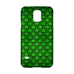 Scales2 Black Marble & Green Brushed Metal (r) Samsung Galaxy S5 Hardshell Case