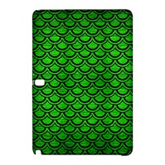 Scales2 Black Marble & Green Brushed Metal (r) Samsung Galaxy Tab Pro 12 2 Hardshell Case