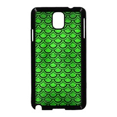 Scales2 Black Marble & Green Brushed Metal (r) Samsung Galaxy Note 3 Neo Hardshell Case (black)