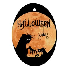 Halloween Ornament (oval)