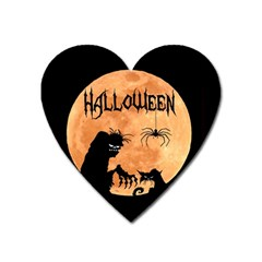 Halloween Heart Magnet