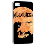 Halloween Apple iPhone 4/4s Seamless Case (White) Front