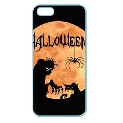 Halloween Apple Seamless Iphone 5 Case (color)