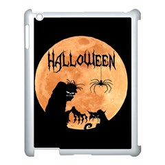 Halloween Apple Ipad 3/4 Case (white)