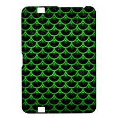 Scales3 Black Marble & Green Brushed Metal Kindle Fire Hd 8 9