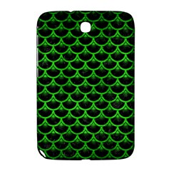 Scales3 Black Marble & Green Brushed Metal Samsung Galaxy Note 8 0 N5100 Hardshell Case