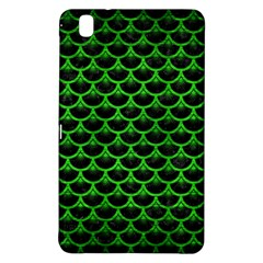 Scales3 Black Marble & Green Brushed Metal Samsung Galaxy Tab Pro 8 4 Hardshell Case
