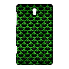 Scales3 Black Marble & Green Brushed Metal Samsung Galaxy Tab S (8 4 ) Hardshell Case