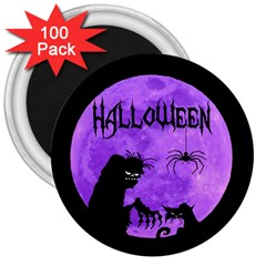 Halloween 3  Magnets (100 Pack)