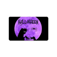 Halloween Magnet (name Card)