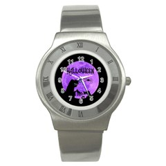 Halloween Stainless Steel Watch