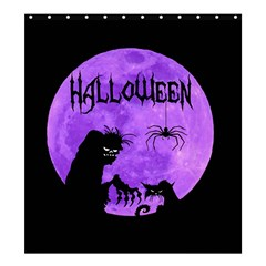 Halloween Shower Curtain 66  X 72  (large)