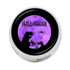 Halloween 4 Port Usb Hub (one Side)