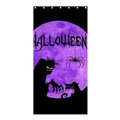 Halloween Shower Curtain 36  X 72  (stall)