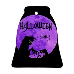 Halloween Bell Ornament (two Sides)