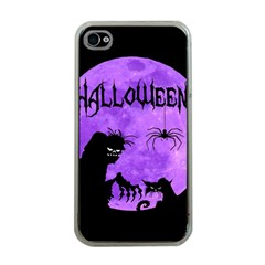 Halloween Apple Iphone 4 Case (clear)