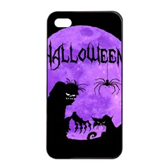 Halloween Apple Iphone 4/4s Seamless Case (black)