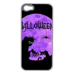 Halloween Apple Iphone 5 Case (silver)