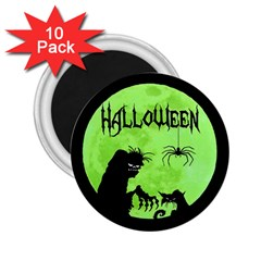 Halloween 2 25  Magnets (10 Pack)