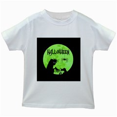 Halloween Kids White T Shirts