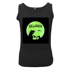Halloween Women s Black Tank Top