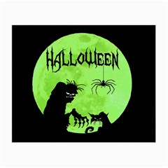 Halloween Small Glasses Cloth (2 Side)