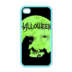 Halloween Apple Iphone 4 Case (color)