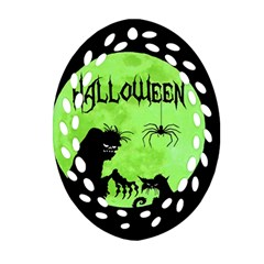 Halloween Ornament (oval Filigree)